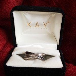 Kay jeweler layered ring